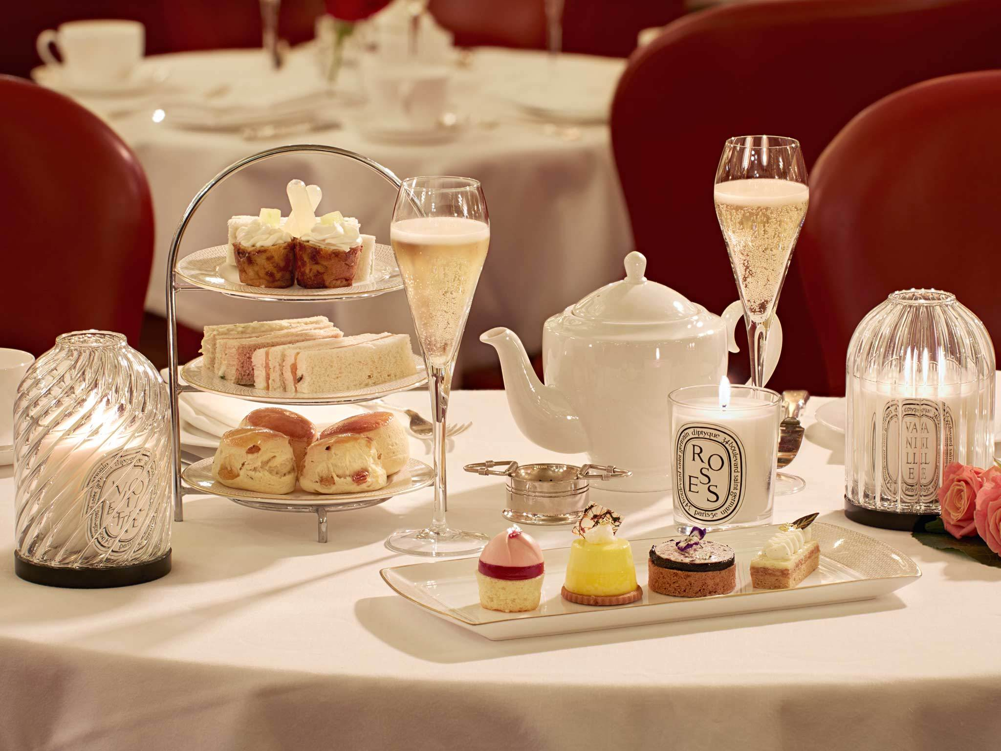 Diptyque Afternoon Tea at the Hotel Café Royal
