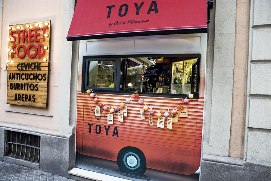 'Food-trucks' que no se mueven