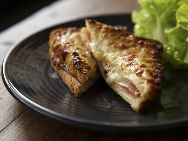 Croque Monsieur at Budburst, $16