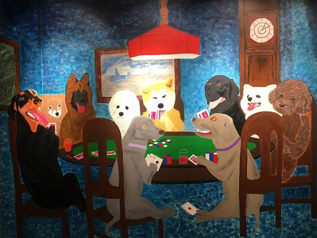 Ban Dog Meat Art Show
