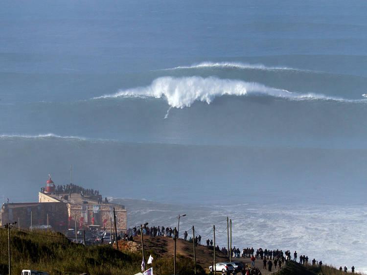 Espreite as maiores ondas do mundo