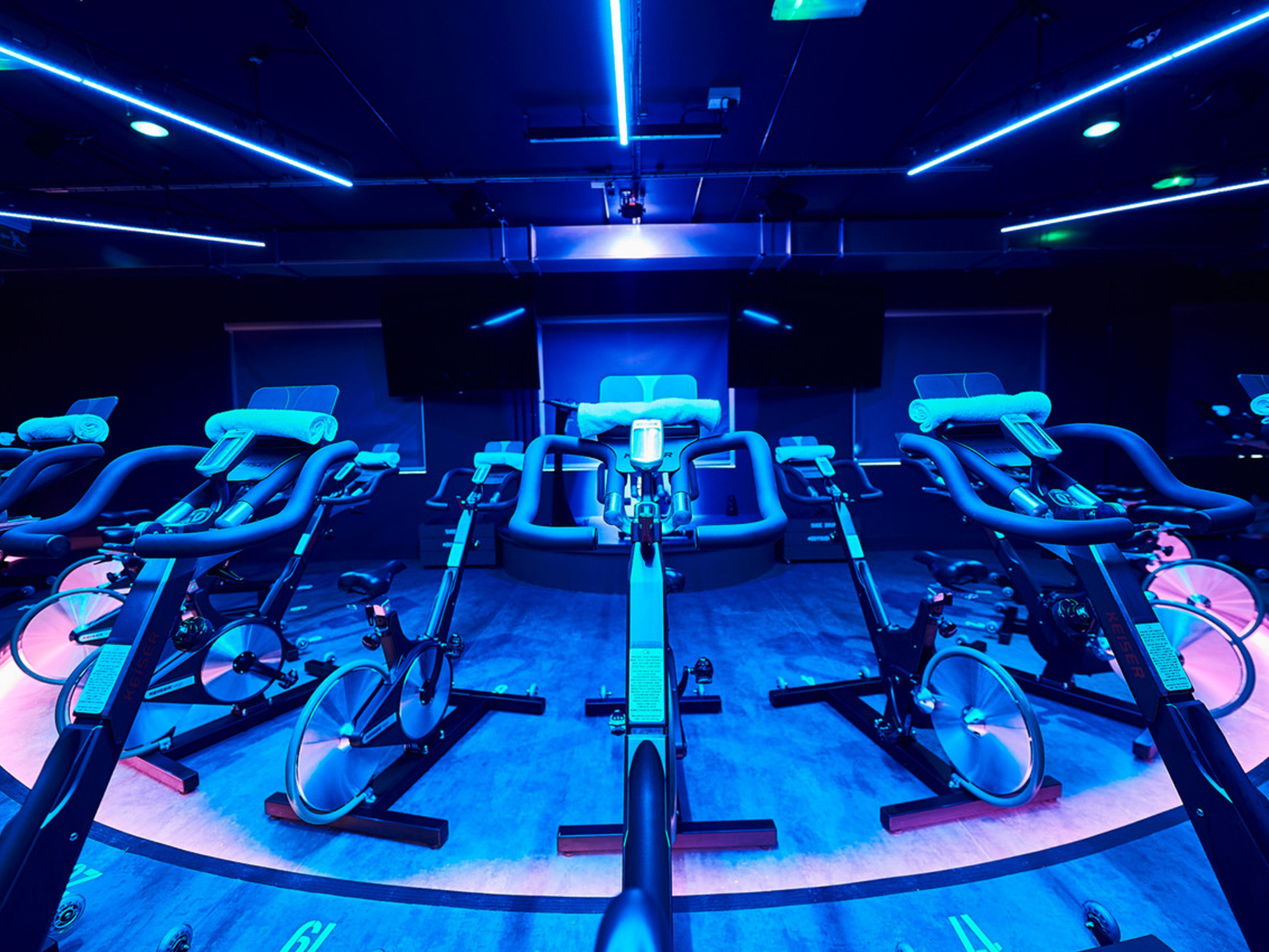 Seriously good spinning classes in London