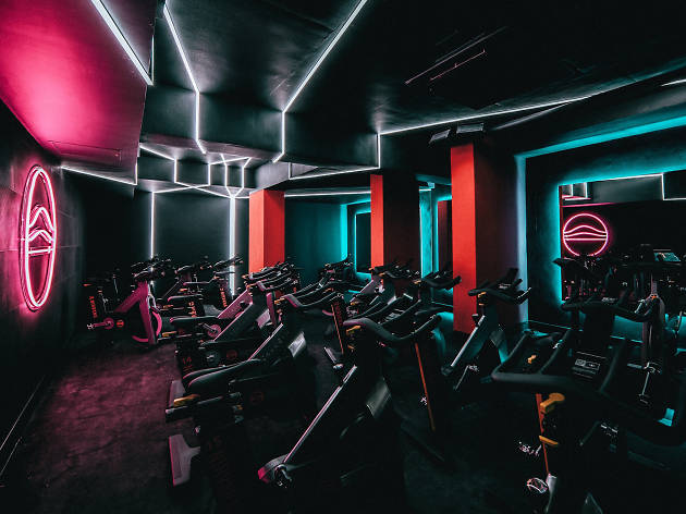 Spinning classes in London: One 10