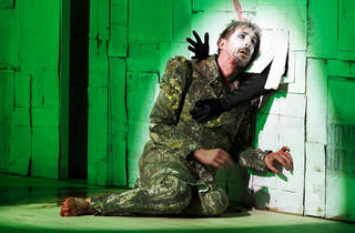 Black Rider 2017 Malthouse x Victorian Opera production still feat Kanen Breen