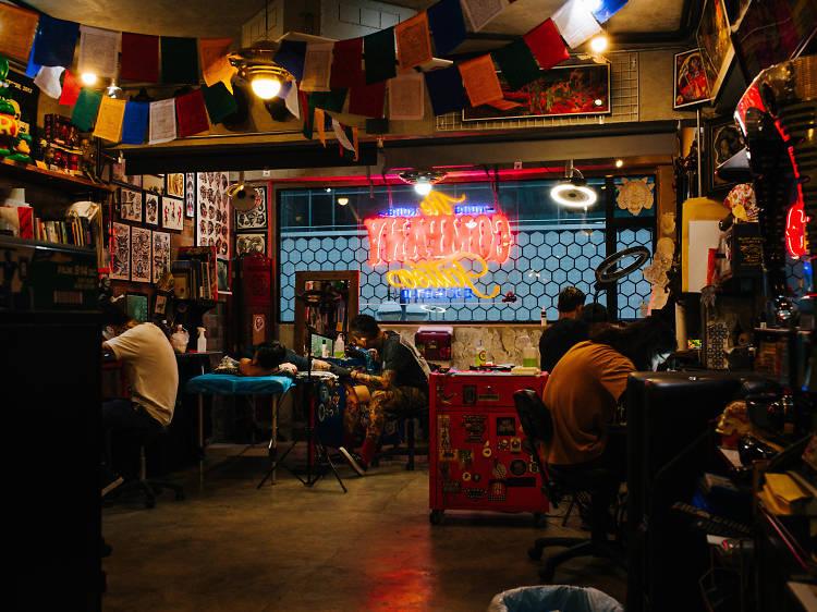 香港頂尖紋身店