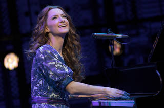 Beautiful The Carole King Musical 2017 Sydney Lyric production still 01 feat Esther Hannaford as Carole King photographer credit Joan Marcus