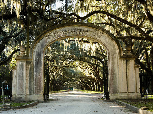 Wormsloe Plantation entrance