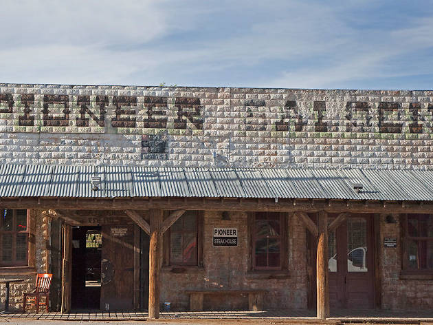 Pioneer Saloon in Goodsprings