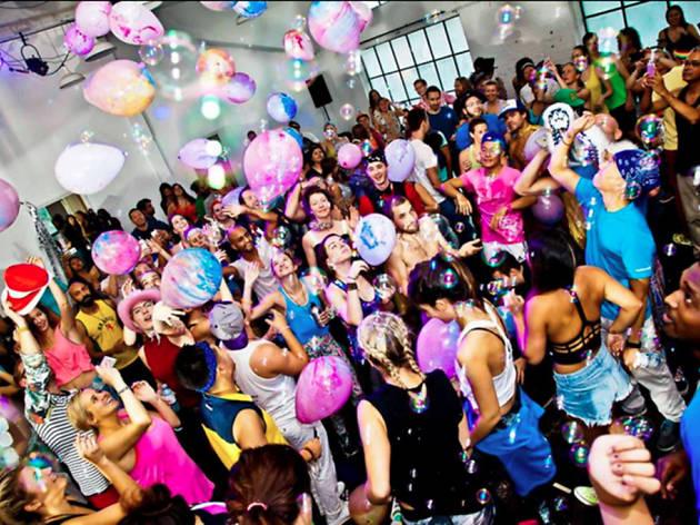 Daybreaker dance party