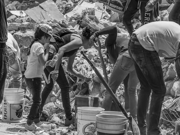 La solidaridad de la CDMX después del sismo del 19 de Spetiembre