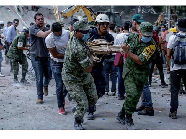 Solidaridad y héroes del sismo del 19 de septiembre en Ciudad de México