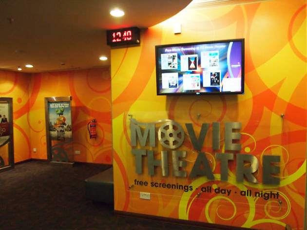 changi airport cinema