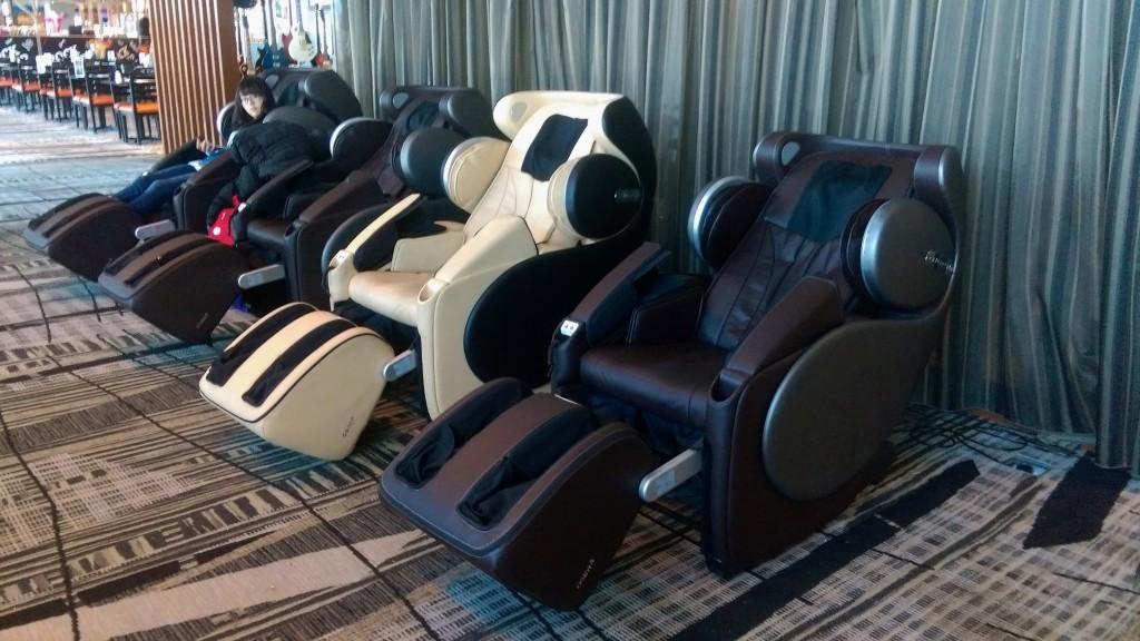 changi massage chairs
