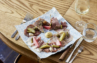 Charcuterie selection, small at French Saloon
