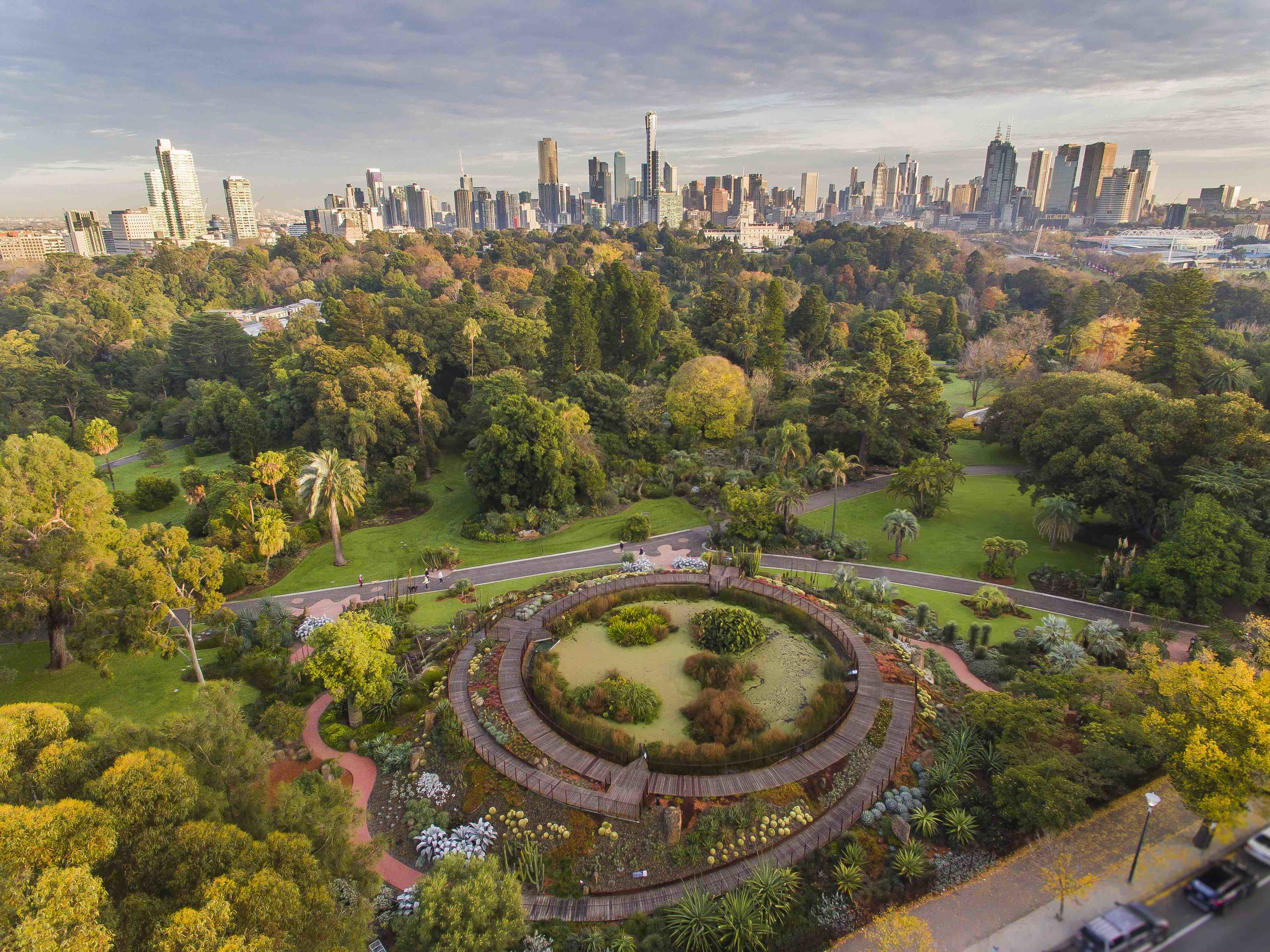 The best parks in Melbourne
