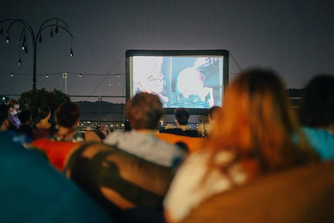 Rooftop flicks and chill