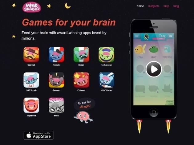 MindSnacks, kids, apps