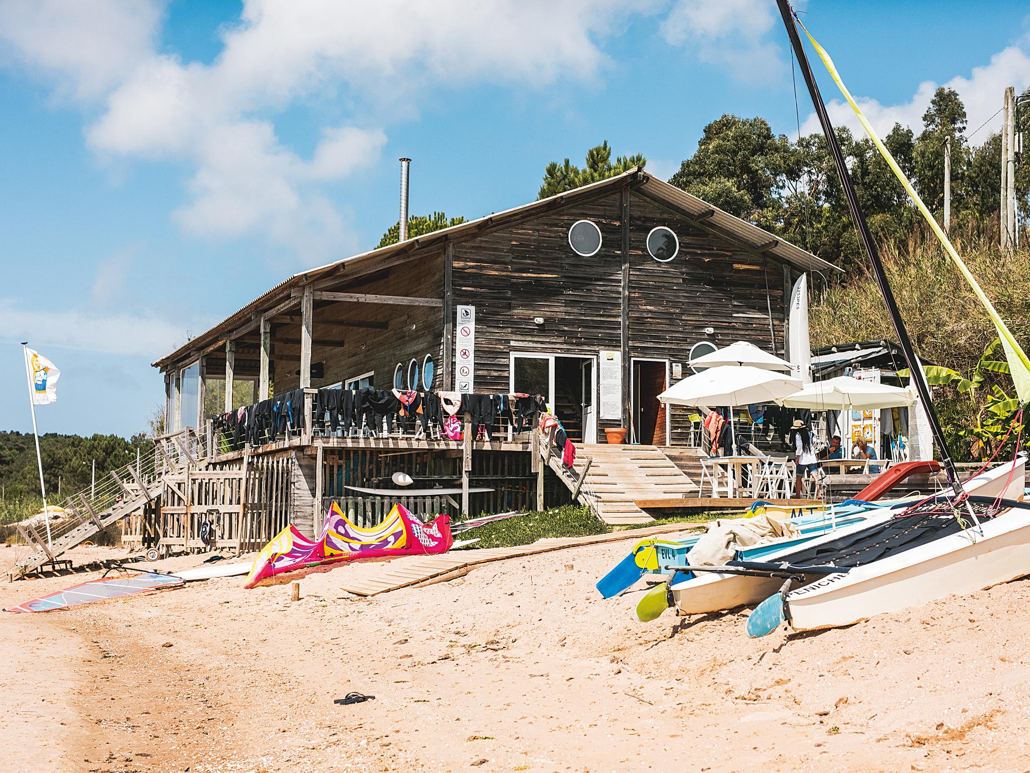 Escola de Vela - Lagoa de Óbidos