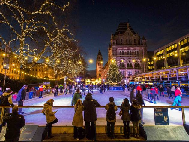 Natural History Museum Ice Rink Things To Do In London
