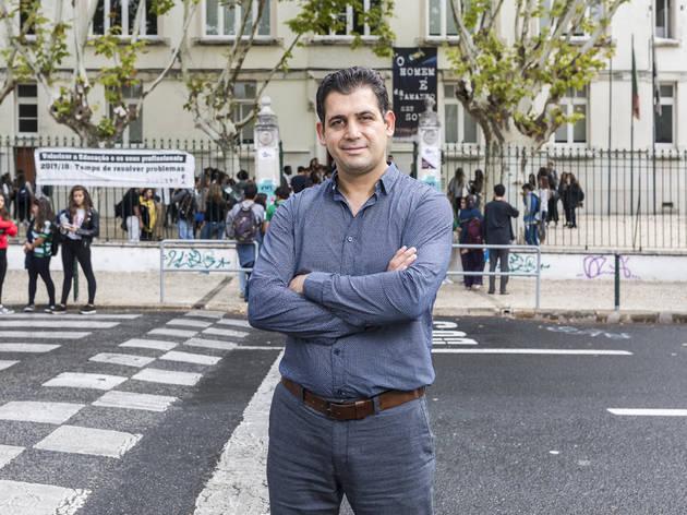 Reza Hajiour  (Fotografia: Manuel Manso)