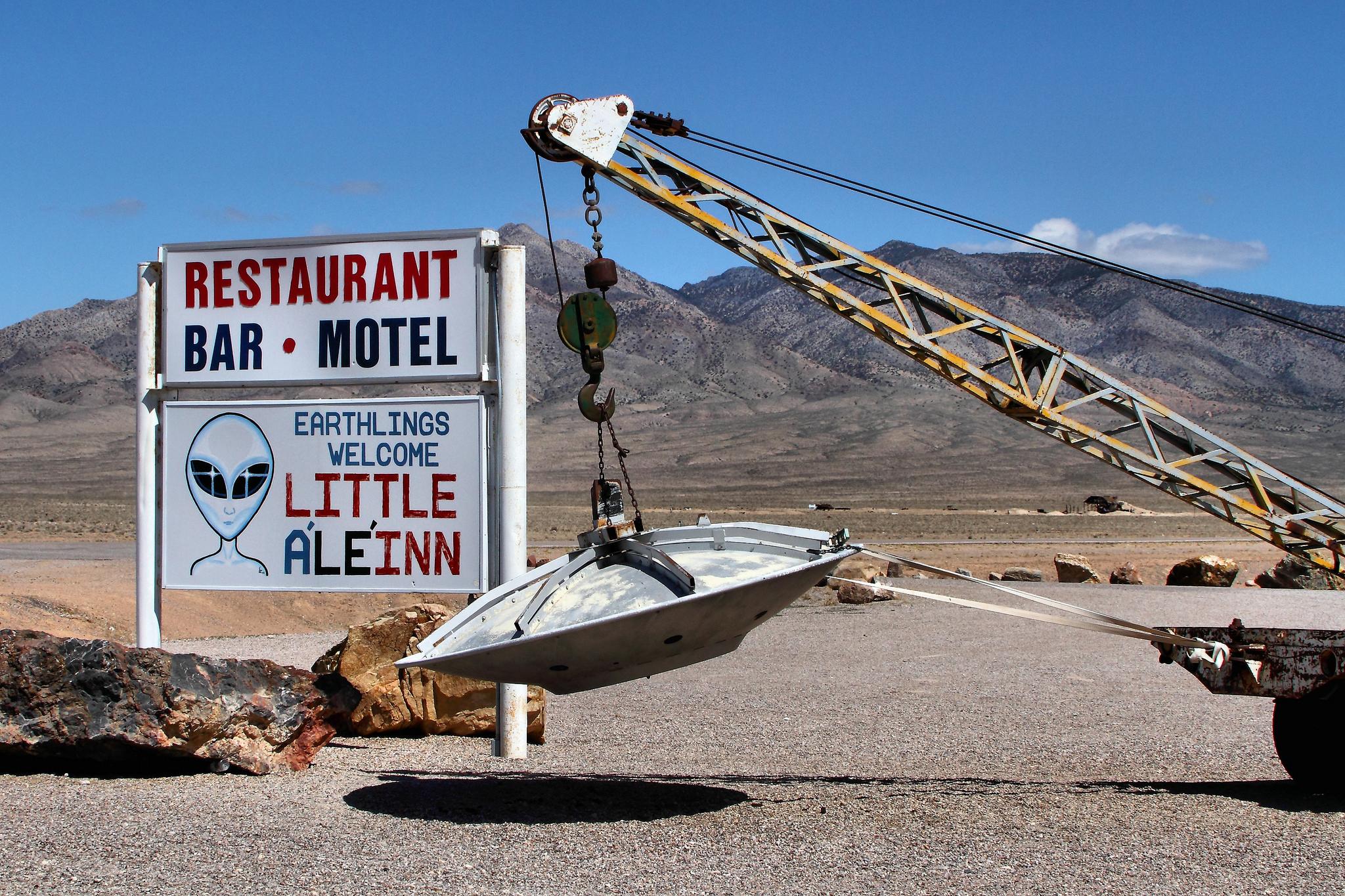 Little A'Le'Inn in Area 51