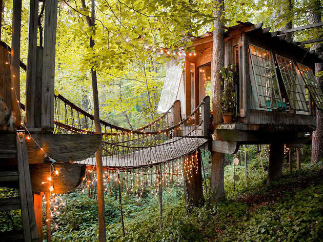 14 Cool Tree Houses You Can Rent All Over America Right Now