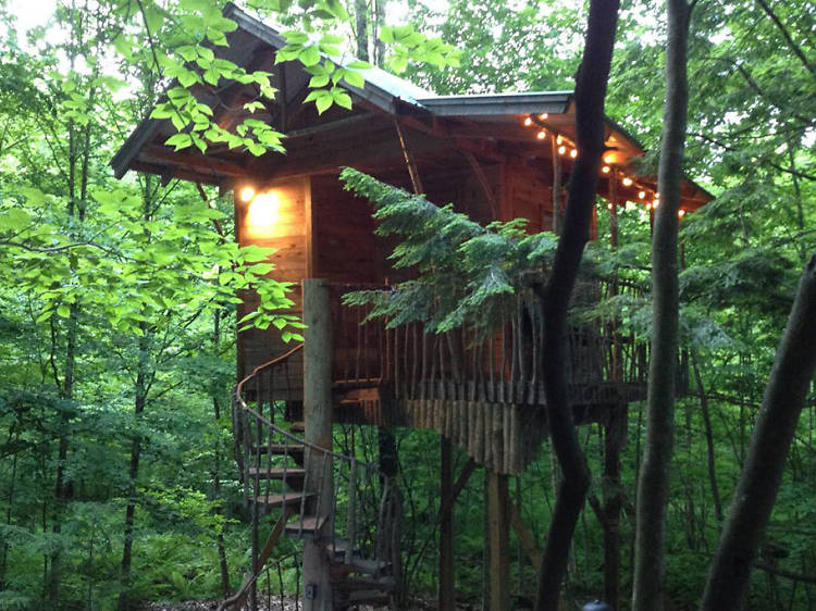 Middle Grove, NY: The mountainside retreat
