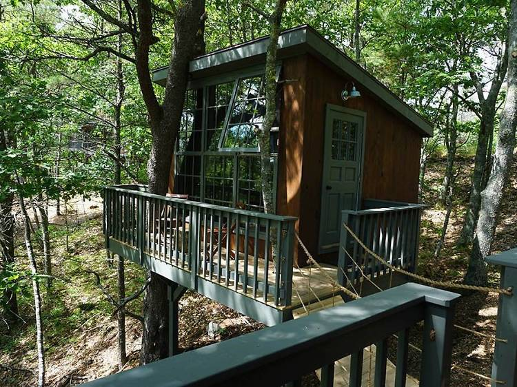 Georgetown, ME: The treehouse with water views