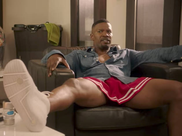 Jamie Foxx in White Famous