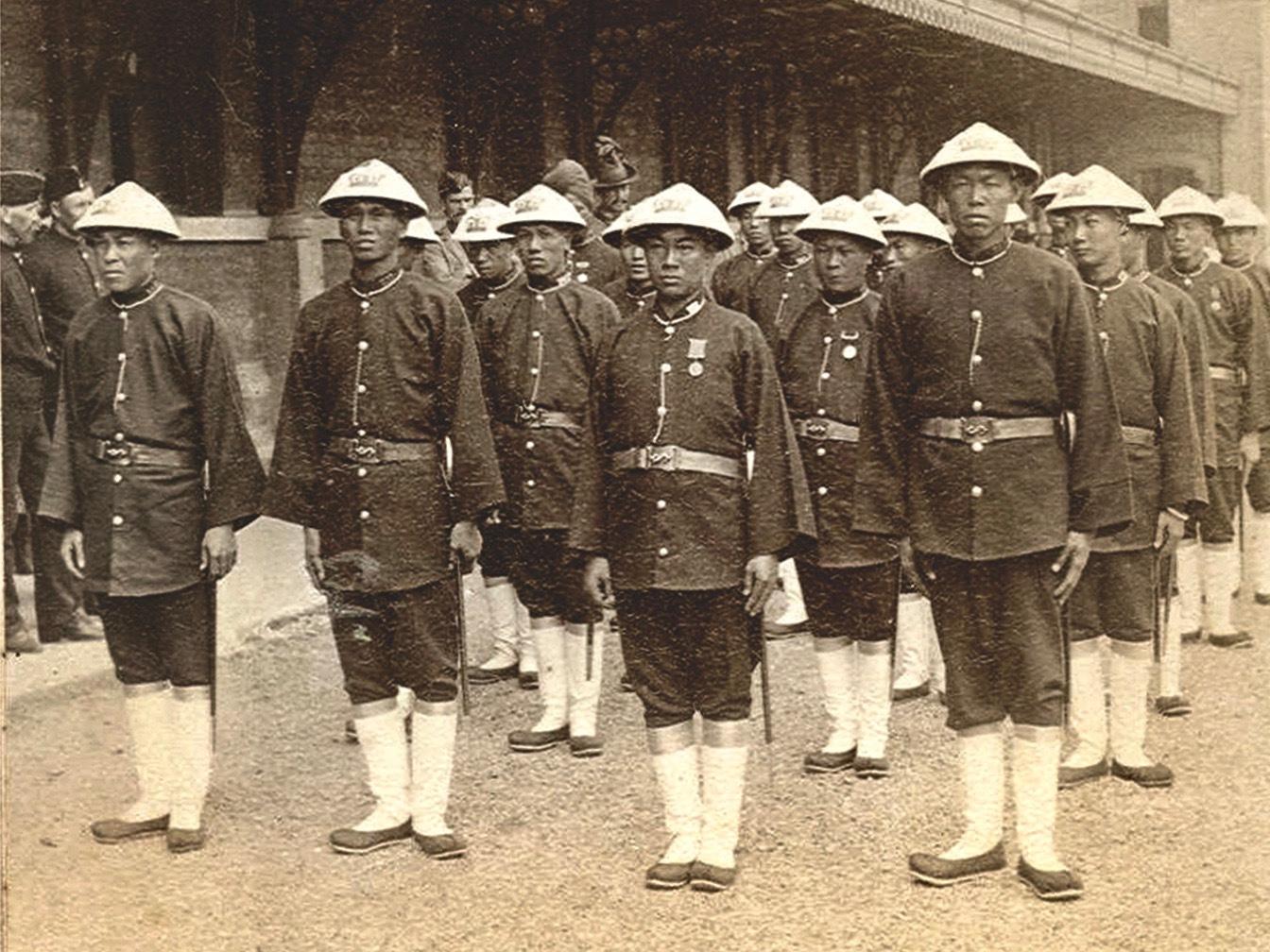 Hong Kong Police 1890s