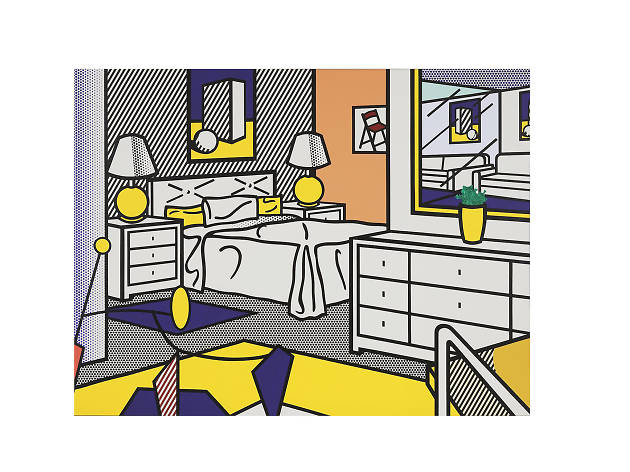 Roy Lichtenstein, Interior with Mobile, 1992