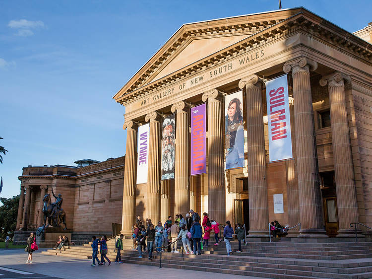Visit cultural institution the Art Gallery of NSW