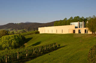 TarraWarra Museum of Art 2013 exterior landscape shot photographer credit Redfish Bluefish Photography
