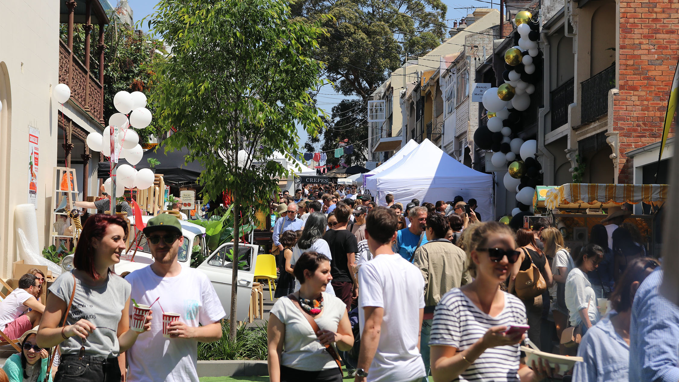 William Street Festival Paddington overview