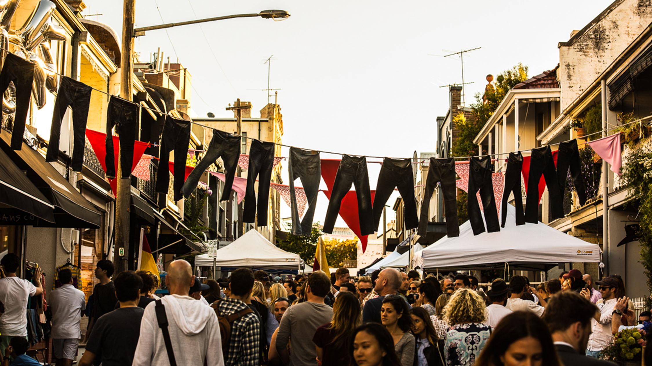 William Street Festival Paddington jeans