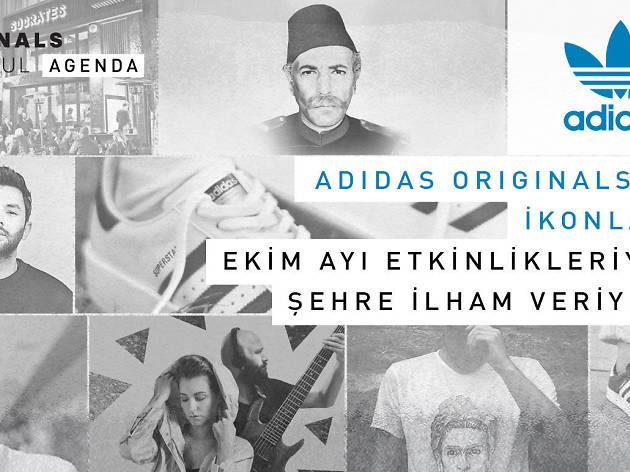 Adidas Originals Calendar - Ekim