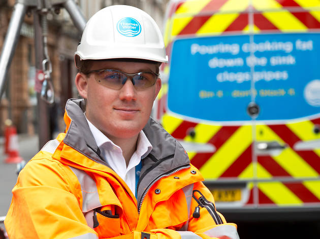 Thames Water fatberg flusher Alex Saunders