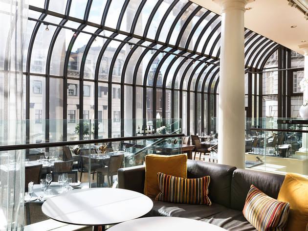 Terrace grill and bar restaurants in mayfair london for The terrace restaurant bar and grill