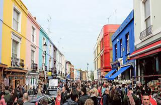 best flea markets london, Portobello Road Market