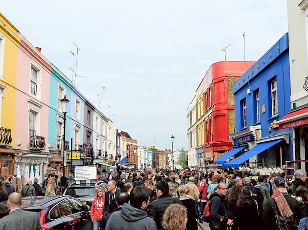 best flea markets london, Portobello Road Market
