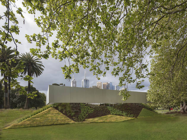 The new MPavilion has been unveiled today at Queen Victoria Gardens