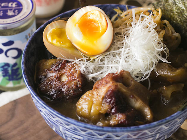 Sumo Bar Happy, Oxtail Ramen