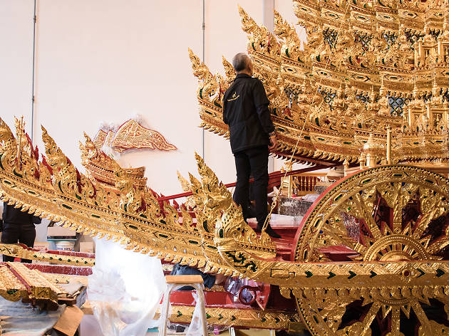 His Majesty King Bhumibol funeral