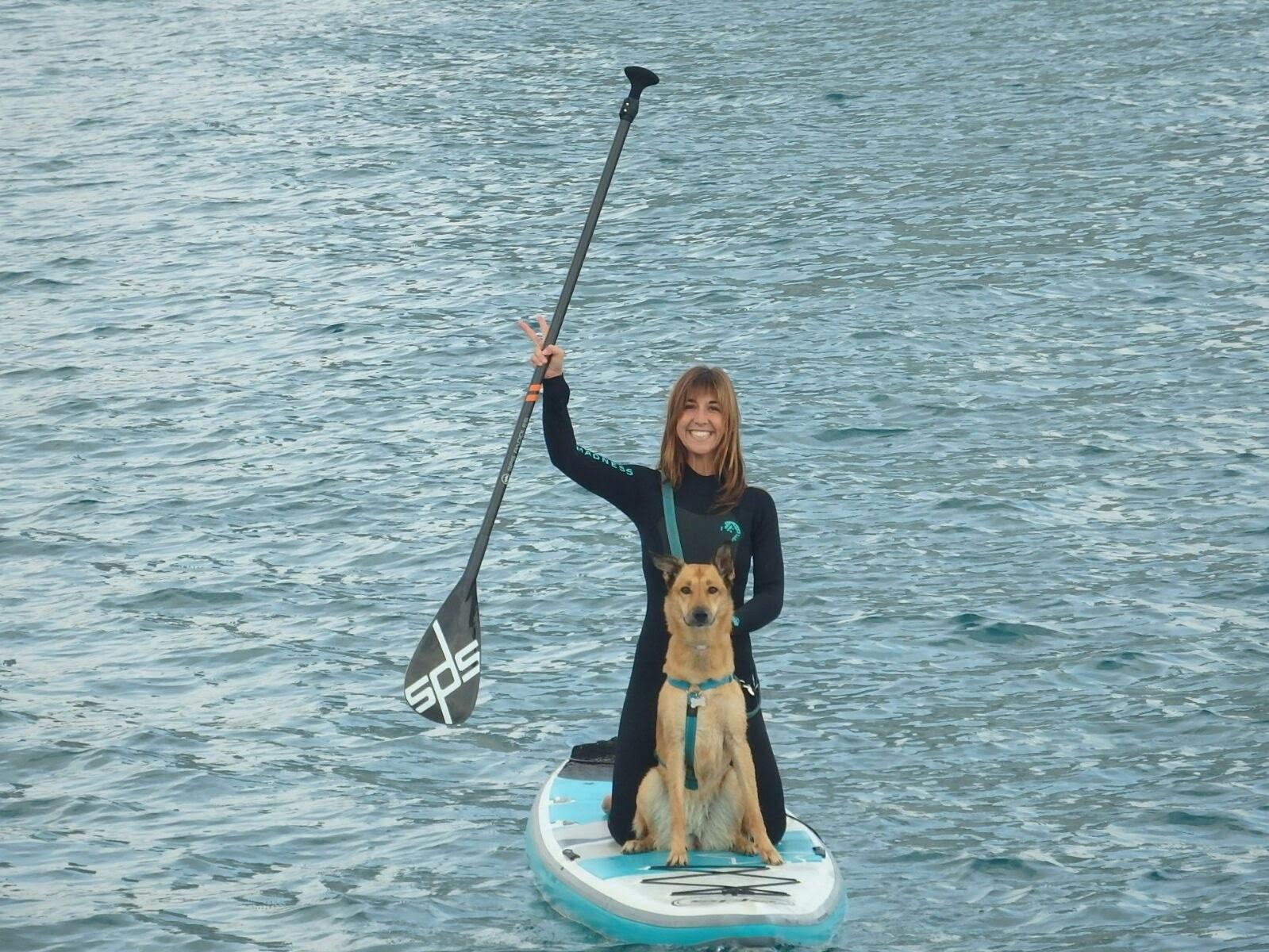 Paddle surf amb gos