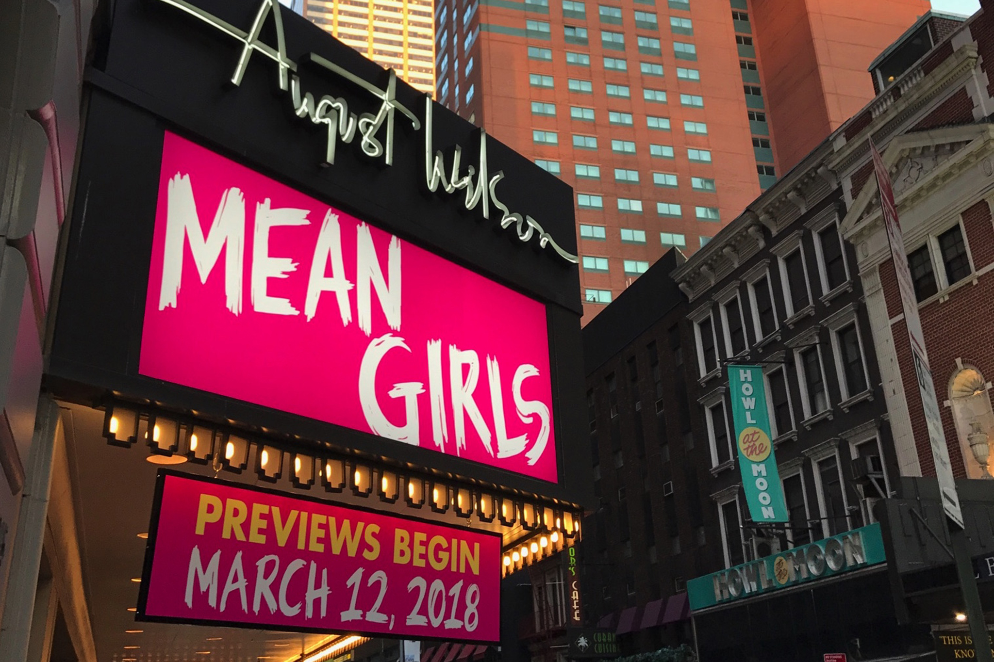 Three ticket lotteries for Mean Girls on Broadway just opened