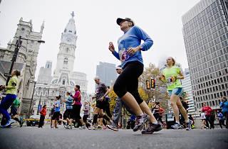 Philadelphia Women's Half Marathon and 8K