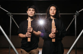 Underbelly Arts Lab and Festival 2017 portrait 01 of Marcus Whale and Eugene Choi for Praise in Cell Block Theatre at National Art School (c) Time Out Sydney photographer credit Daniel Boud