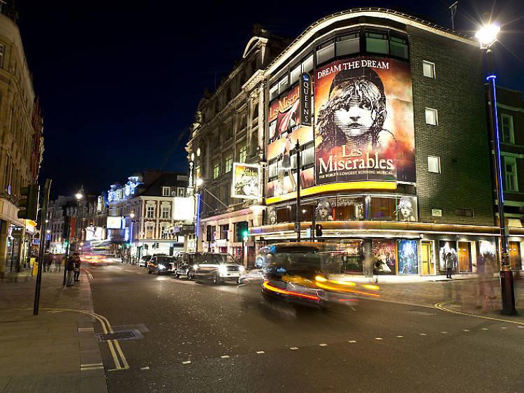 Matez une comédie musicale dans le West End