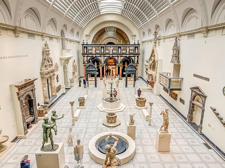 Admirez des marbres célèbres au V&A Museum