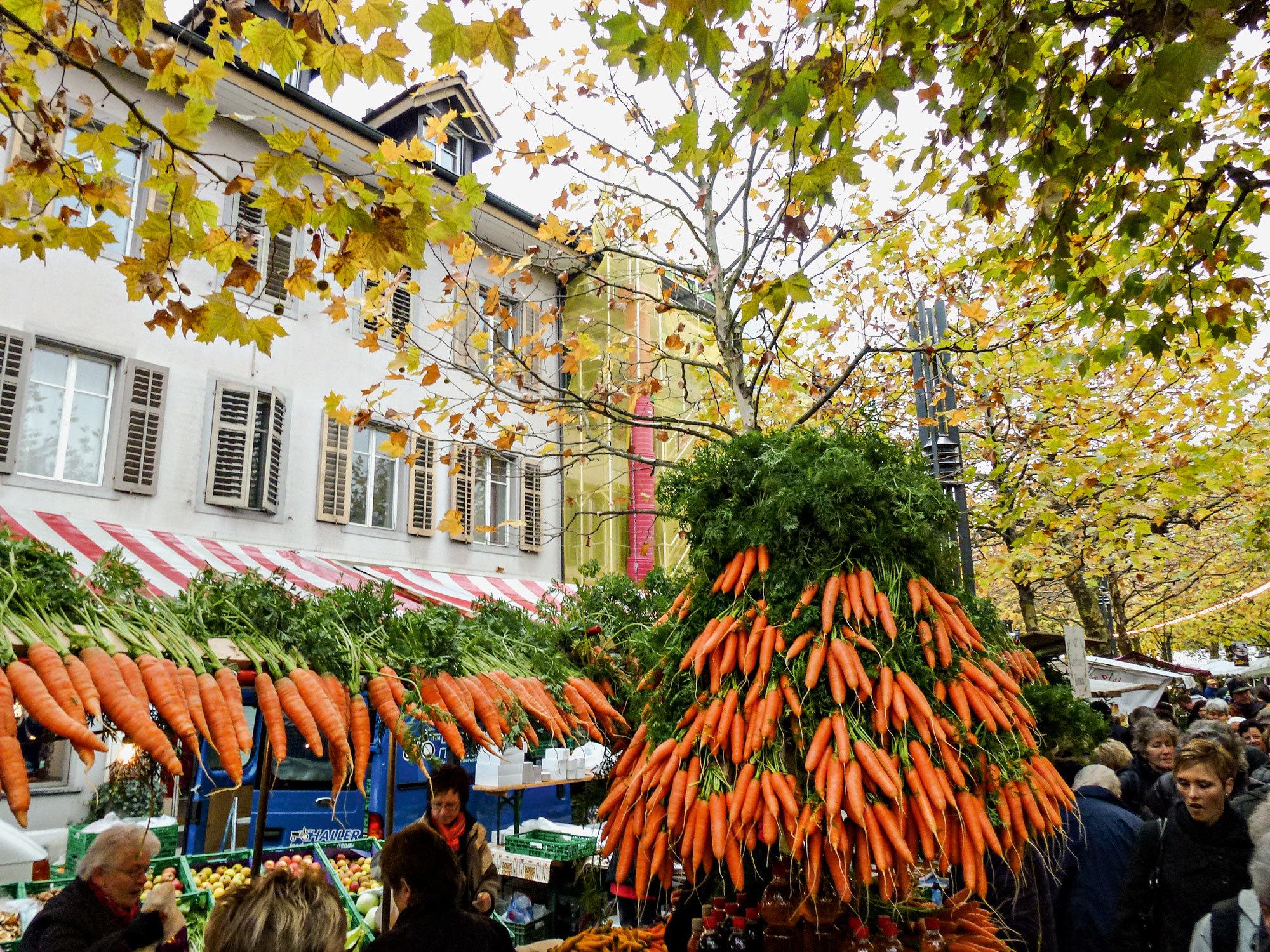 Carrot Market - Bucket List